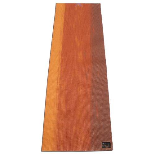 Aurorae Esterilla de yoga impresa, extra gruesa de 5mm y 182 cm de largo, ecológica, segura, con colofonia antideslizante - YM009NLSUN, Sunset