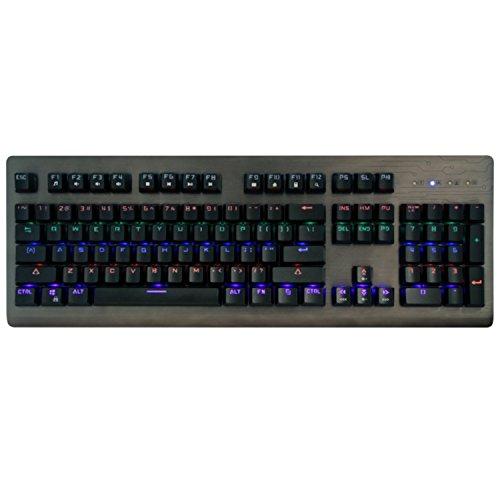 Media-Tech MT1253 Cobra Pro Inferno Gaming Tastatur 104 Tasten QUERTY USB Multimedia Tastatur Hintergrundbeleuchtung