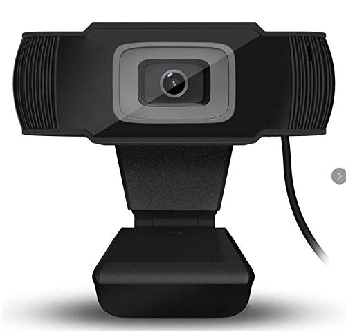 Jinxuny HD 1080P Webcam met 5 Miljoen Pixels Microfoon, Computer Web USB Mac Laptop of Desktop Camera, voor Streaming, Video Calling and Recording, USB 2.0 Driver-Free