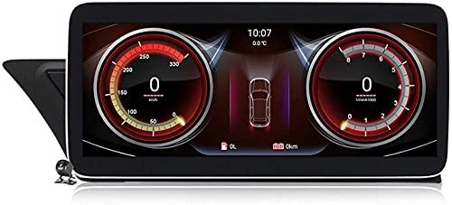FDGBCF Coche con navegación GPS estéreo Android 10 para Audi A4 B8 A5 2009~2016 con Pantalla incorporada de 10.25/12.5'Carplay Android Auto DSP Soporte Radio Multimedia CD DVD/SWC BT