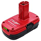 19.2V Lithium C3 Replacement Battery Compatible with Craftsman 19.2 Volt XCP 130279005 1323903 11375 130211004 315.115410 315.11485 315.113753 Power Tools