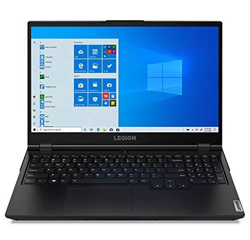 """Lenovo Legion 5 Gaming Laptop, 15.6"""" FHD IPS Display, AMD Ryzen 5 4600H, Webcam, Backlit Keyboard, Wi-Fi 6, USB-C, HDMI, GeForce GTX 1650 Ti, Windows 10 Home, 8GB Memory, 256GB PCIe SSD + 1TB HDD"""