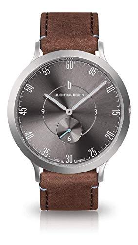 Lilienthal Berlin - L1 - All Silver Brown - 42,5 MM (braun)