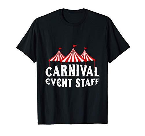 Vintage Costume Event Circus Staff Themed Birthday Party T-Shirt