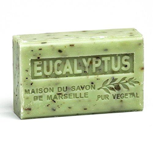 Provenzalische Seife Eukalyptus (Eucalyptus) mit Bio-Sheabutter (125 Gramm)