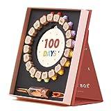 HIKOTO 乳歯 ケース [FDA認証済][BPAフリー] 2020最新版 一生秘蔵できる 乳歯ケース メッセージボトル産毛小瓶付き ギフトボックス付き ベビー用乳歯ケース 乳歯入れ 乳歯博物館 (ビンテージナイト)