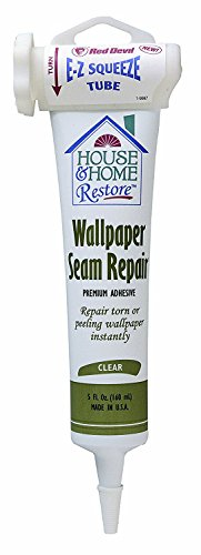 Red Devil 0878 House & Home Restore Wallpaper Seam Repair, 1 Pack, Clear