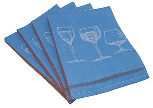 blauwe handdoeken ikea