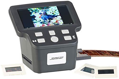 Somikon Diascanner: Stand-Alone-Dia-, Negativ- & Super-8-Scanner, 12,5-cm-Farbdisplay (5