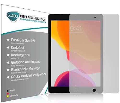 Slabo 2 x Bildschirmschutzfolie kompatibel mit iPad 10.2 (7. Gen. | 2019) | 10.2 (8. Gen. | 2020) | 10.2 (9. Gen. | 2021) Bildschirmschutz Schutzfolie Folie No Reflexion | Keine Reflektion MATT