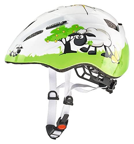 Uvex, Casco da ciclismo Bambino, motivo: Pecorella, Verde (Dolly), 46 - 52 cm