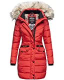 Navahoo Damen Winter Jacke Mantel Parka warm...