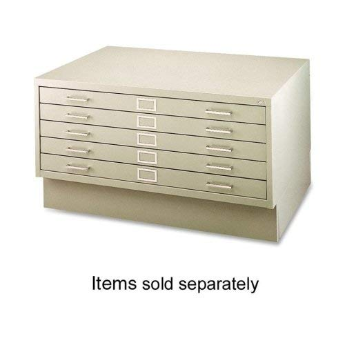 Safco Products Flat File Closed Base for 5-Drawer 4994TSR Flat File, sold separately, Tropic Sand