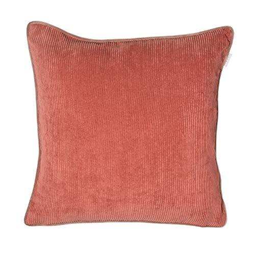 Esprit - Funda de cojín (40 x 40 cm, 40 x 60 cm, 45 x 45 cm), color gris, natural, amarillo, coral, azul y verde, rojo, 2 Stück (40 x 40 cm)