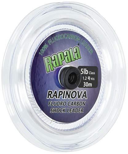 Rapala(ラパラ) リーダー ラピノヴァ ショックリーダー フロロカーボン 30m 1.2号 5lb クリア RFL30M5