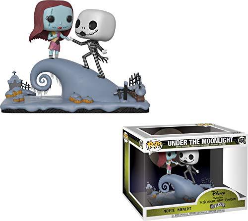 Funko POP: Movie Moments: Disney: Pesadilla antes de Navidad: Jack y Sally