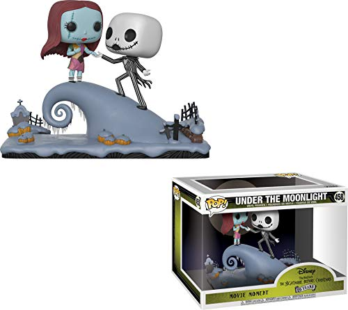 Funko POP: Movie Moments: Disney: Pesadilla antes de Navidad: Jack y Sally