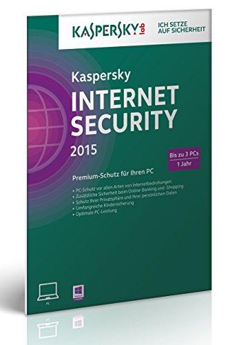 Kaspersky Internet Security 2015 - 3 PCs [import allemand]
