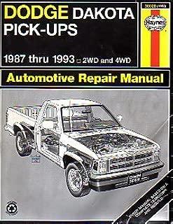 Best 1993 dodge dakota service manual Reviews