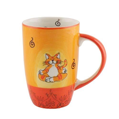 Mila Keramik-Designbecher, Oommh Katze | MI-95038 | 4045303950382