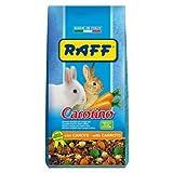 Raff Carotino alimento vitaminizzato per Conigli Nani con Carota disidratata