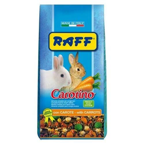 Raff Carotte alimentaire vitaminée pour lapins, chiens avec carotte déshydratée