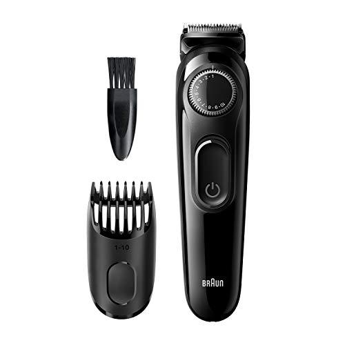 Braun BT3222 Bart und Haarschneider für Herren, 20Längeneinstellungen, schwarz