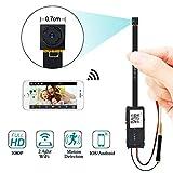 Mini-Kamera - UYIKOO Mini-Wifi-Kamera unterstützt WLAN, um das Live-Video auf dem Handy zu sehen, perfekt zum Schutz Ihres Hauses / Büros / Gartens Sicherheit HD Video - die Nanny-Kamera mit Video Auflösung optional, Bildrate ist 10-25fps; Die Arbeit...