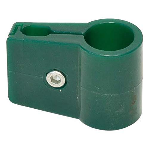 Verdemax 8556 Single Supporting Holdfast voor Paal - Groen (4-delig)