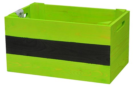 'Wagner Mobile Plante Beet Herbes Box – Pin Massif, FSC, Vert, 39 x 24 x 20 cm, 4 Roues, étiquette, Charge maximale 50 kg – 25022001