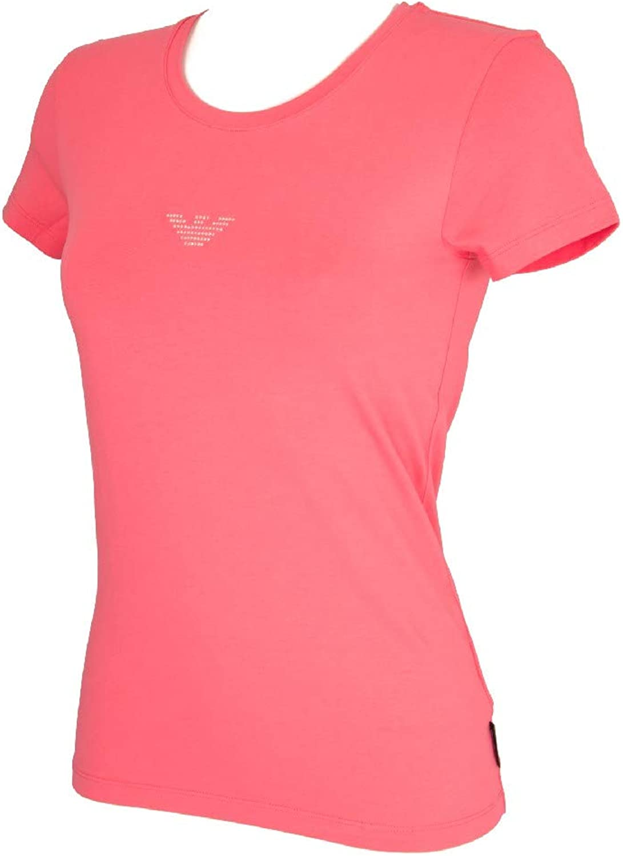 Emporio Armani Women's ShortSleeved Round Neck TShirt Article 163139 7P263