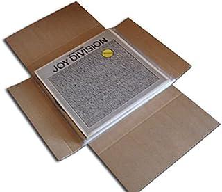 CUIDATUMUSICA Cajas Cartón Embalaje y Envío para Enviar Discos de Vinilo LP/Pack de 20 - Marca Cuida Tu Musica - / Ref.4020