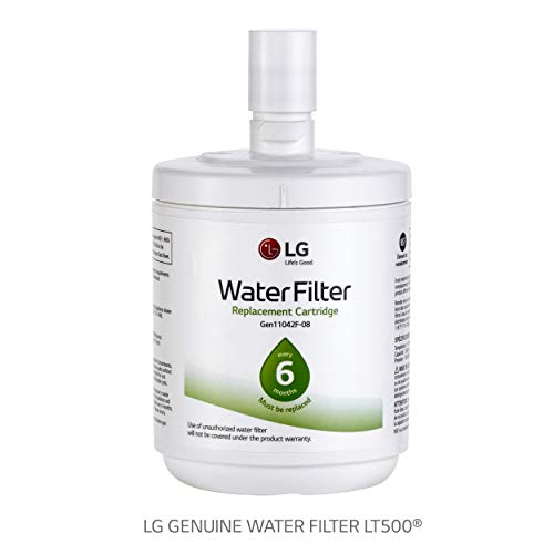 LG LT500P - 6 Month / 500 Gallon Capacity Replacement Refrigerator Water Filter (NSF42 ADQ72910911