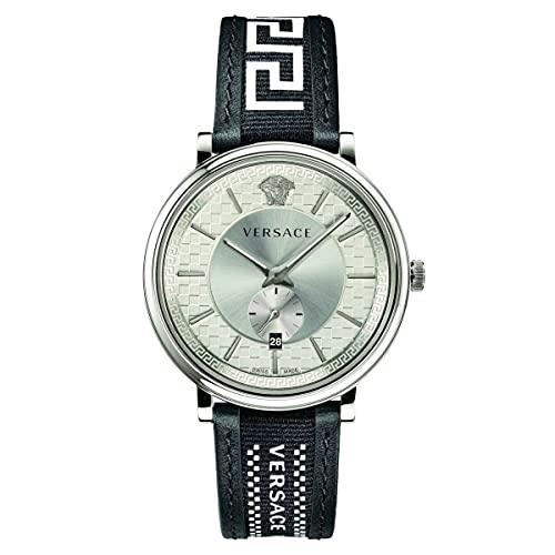 VERSACE V-Circle VEBQ012 19 - Reloj de pulsera para hombre (42 mm)