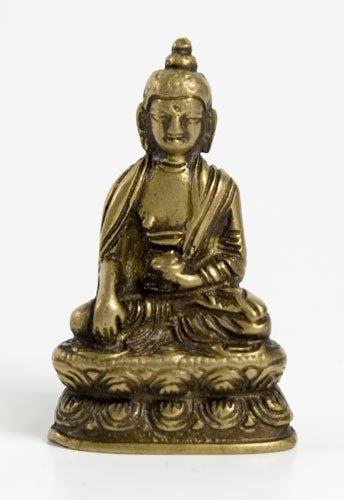 Akshobhya - Buddha Buddhas 5,5 cm Messing