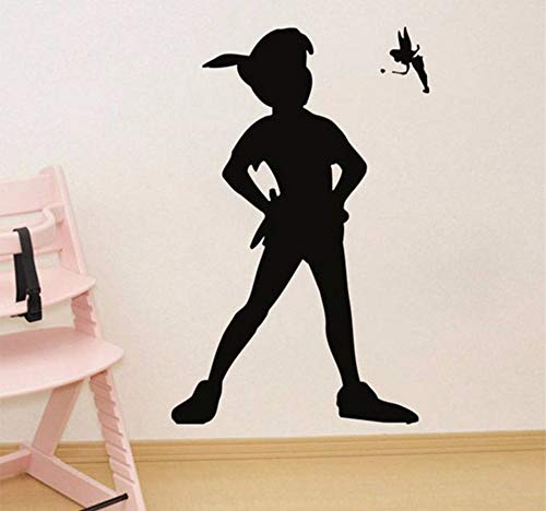 Hanjiming Muursticker Peter Pan Cartoon Schip Piraten Haak Sticker Slaapkamer Kids Meisjes Jongens Tiener Kamer Kwekerij Muurstickers voor Baby