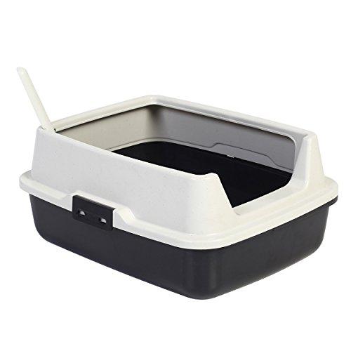 Animal Treasures Deluxe Cat Litter Pan with High Rim