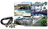 Diffusore Nebulizzatore d'acqua da terrazza o giardino con installazione semplice e rapida