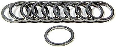Fragola 999218 Crush Washer 18 mm Aluminum Set of 10