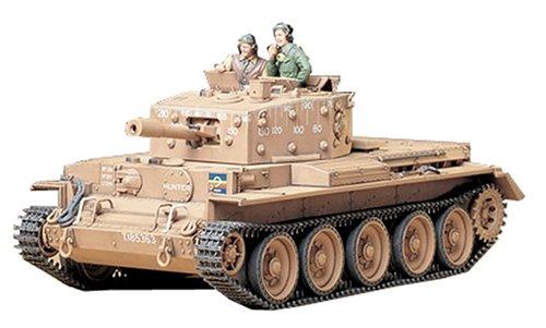 Dickie - Tamiya - Modellino Carro Armato Centaur MK.IV 95 Mm Howitzer Scala 1:35