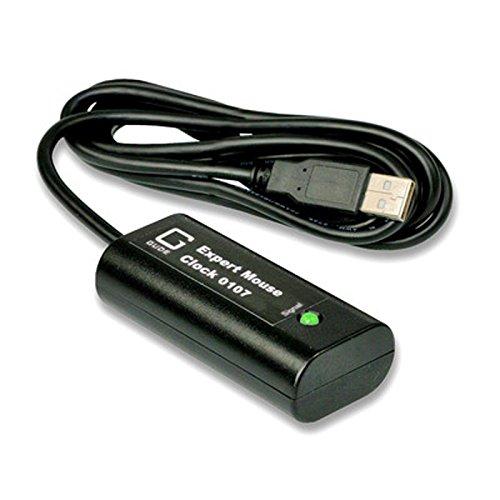 GUDE 0107 DCF77 PC-Funkuhr mit USB-Schnittstelle schwarz