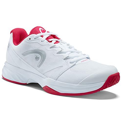 HEAD Women's Sprint Pro 2.5 Tennis Shoe (8) White/Pink