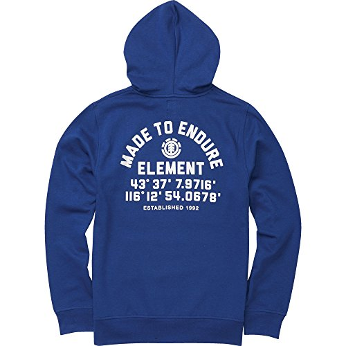 Element Men's Hub Backprint Pullover Hoodie Boise Blue 2XL