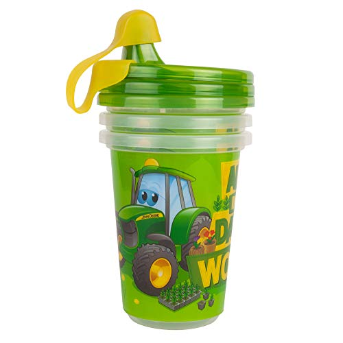 John Deere Take & Toss Sippy Cup, 3 Pack