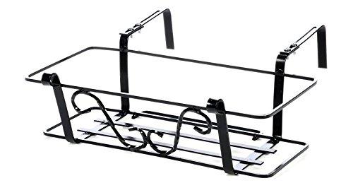 Balconiera Quadro 6 Regolabile Balconiera Cm 83/Ganci da 7 a 18 Cm Art.11002_18-100% Made in Italy -