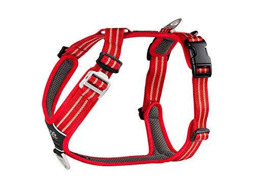DOG Copenhagen Comfort Walk Air Harness Classic Red WH-CR Talla XL 🔥