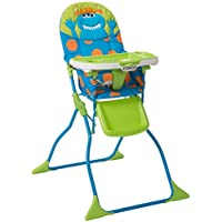 Cosco Simple Fold Deluxe High Chair with 3-Position Tray