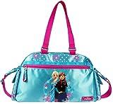 Frozen Bolsa de deporte para niños, color azul y rosa