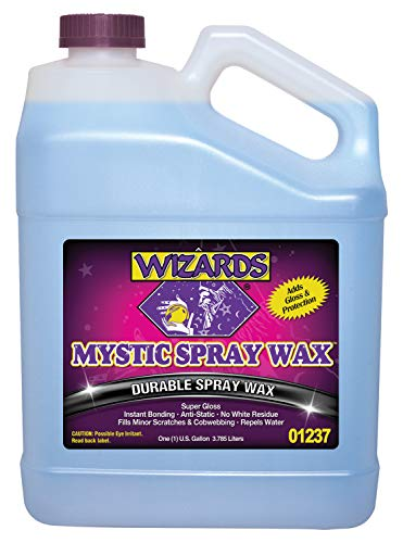Wizards Products 95095 Mystic Spray Wax_High Gloss Car Wax Shine 1 Gallon