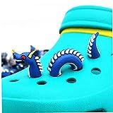 Angoter 3pcs Un Kit Ganasce della novità del PVC 3D Scarpe Stile del Drago da Giardino Accessori Croc Charm Ornamenti Bambini Regalo di Stile a Caso